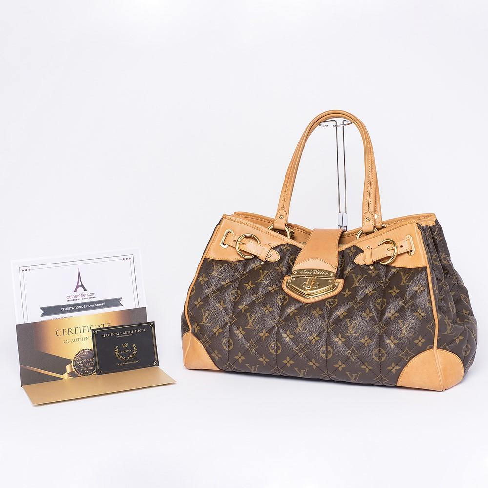 Sac porté épaule Louis Vuitton Etoile Shopper Authentique d'occasion en toile Monogram