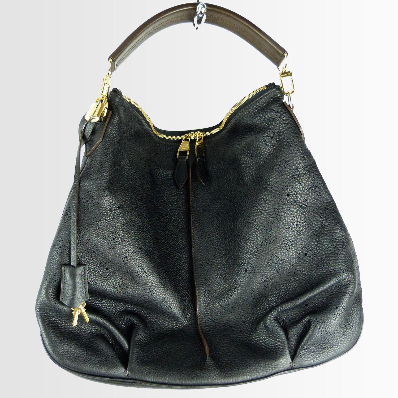 Sac à main Louis Vuitton Séléné Mahina MM Authentique d'occasion couleur noir Edition Limitée
