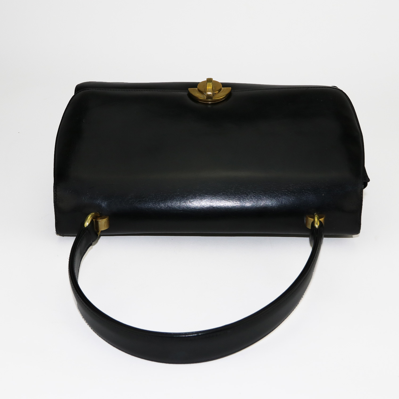 Bellissime sac à main Gucci Vintage Authentique d'occasion de 1951 très rare