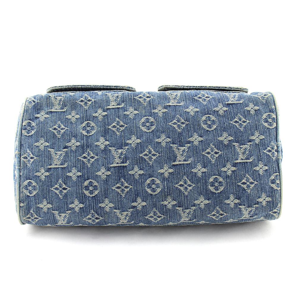 "Sac à main Louis Vuitton Neo Speedy 30 denim bleu monogram ""collection Speedy"" Authentique d'occasion"