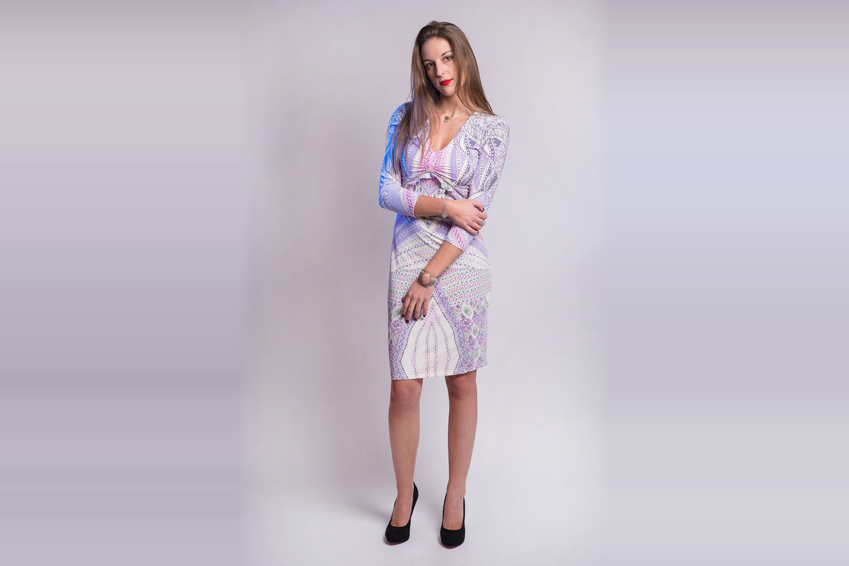 Robe multicouleur Roberto Cavalli Authentique d'occasion