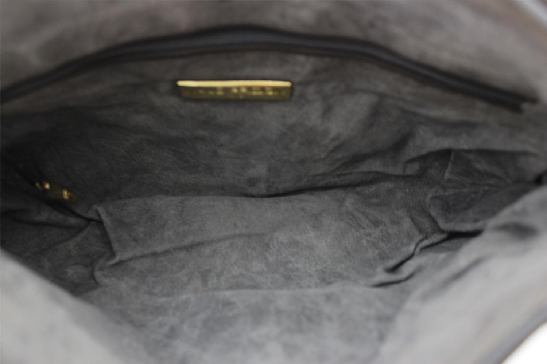 Sac à main Maud Frizon Cabas Authentique d'occasion en cuir et daim couleur gris