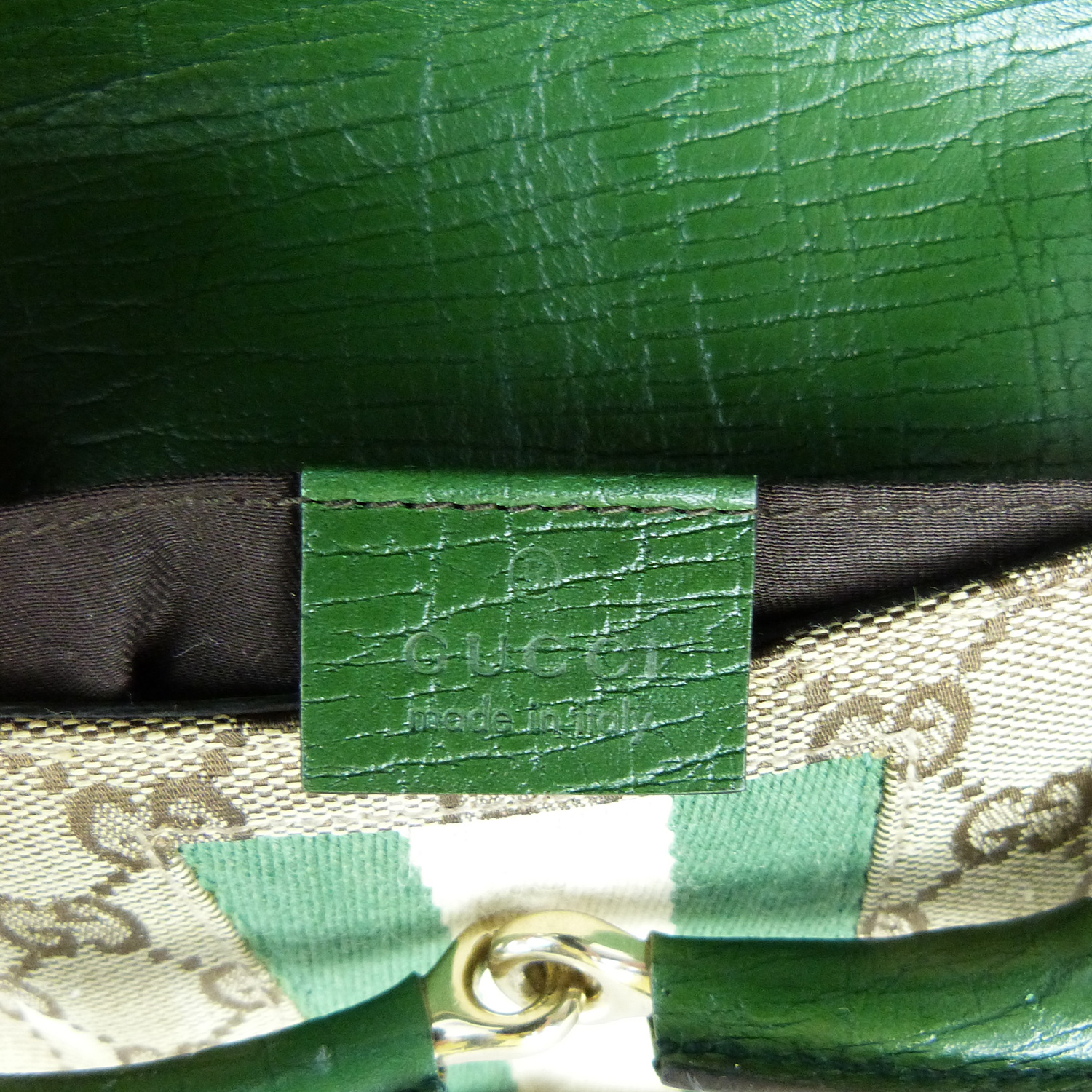 Pochette Gucci Collection Mors Authentique d'occasion Monogram