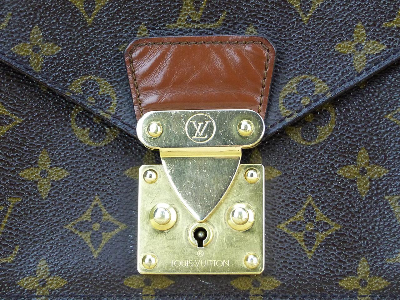 Sac Louis Vuitton Concorde Authentique d'occasion Monogram Vintage